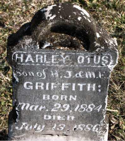 GRIFFITH, HARLEY  OTUS - Carroll County, Arkansas | HARLEY  OTUS GRIFFITH - Arkansas Gravestone Photos