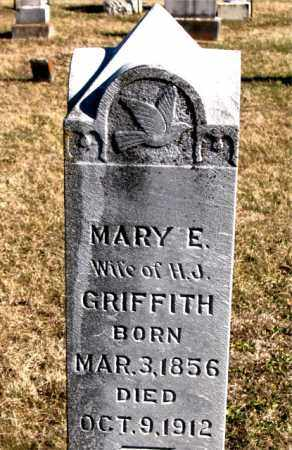 GRIFFITH, MARY E. - Carroll County, Arkansas   MARY E. GRIFFITH - Arkansas Gravestone Photos