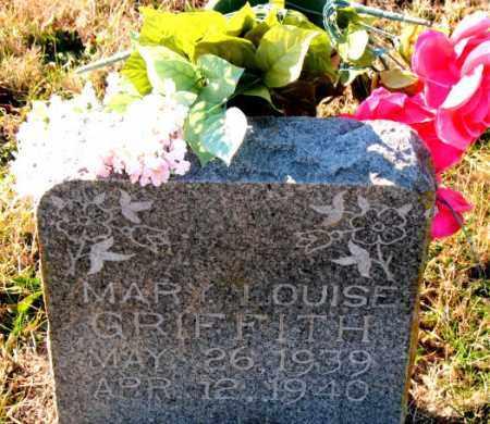 GRIFFITH, MARY  LOUISE - Carroll County, Arkansas | MARY  LOUISE GRIFFITH - Arkansas Gravestone Photos