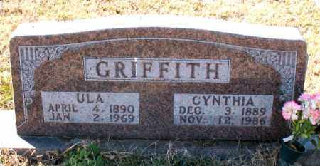 GRIFFITH, CYNTHIA - Carroll County, Arkansas | CYNTHIA GRIFFITH - Arkansas Gravestone Photos