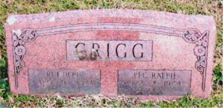 GRIGG, RALPH - Carroll County, Arkansas | RALPH GRIGG - Arkansas Gravestone Photos