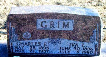 GRIM, CHARLES E. - Carroll County, Arkansas | CHARLES E. GRIM - Arkansas Gravestone Photos