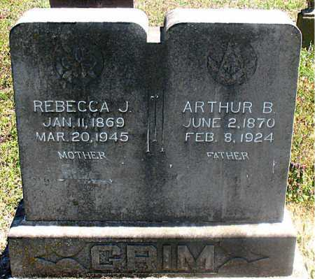 GRIM, ARTHUR B. - Carroll County, Arkansas | ARTHUR B. GRIM - Arkansas Gravestone Photos