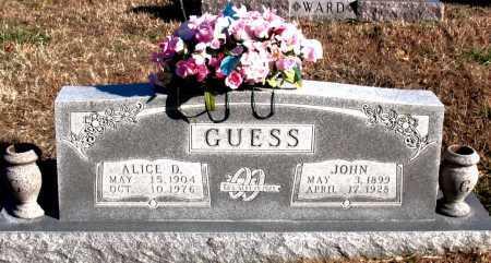 GUESS, JOHN - Carroll County, Arkansas | JOHN GUESS - Arkansas Gravestone Photos