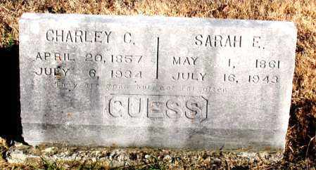 GUESS, SARAH E. - Carroll County, Arkansas   SARAH E. GUESS - Arkansas Gravestone Photos