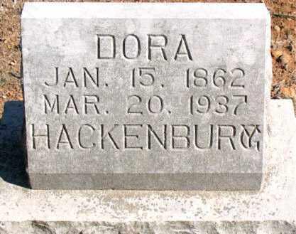 HACKENBURG, DORA - Carroll County, Arkansas | DORA HACKENBURG - Arkansas Gravestone Photos