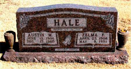 HALE, AUSTIN  M. - Carroll County, Arkansas | AUSTIN  M. HALE - Arkansas Gravestone Photos