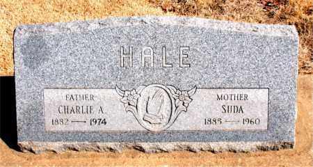 HALE, CHARLIE  A. - Carroll County, Arkansas   CHARLIE  A. HALE - Arkansas Gravestone Photos