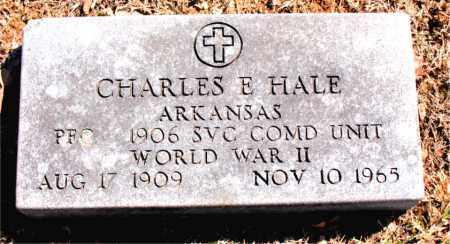 HALE (VETERAN WWII), CHARLES E - Carroll County, Arkansas | CHARLES E HALE (VETERAN WWII) - Arkansas Gravestone Photos
