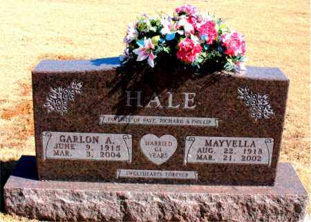 HALE, MAYVELLA - Carroll County, Arkansas   MAYVELLA HALE - Arkansas Gravestone Photos