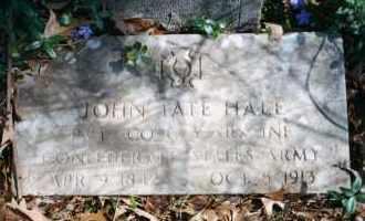 HALE (VETERAN CSA), JOHN TATE - Carroll County, Arkansas | JOHN TATE HALE (VETERAN CSA) - Arkansas Gravestone Photos
