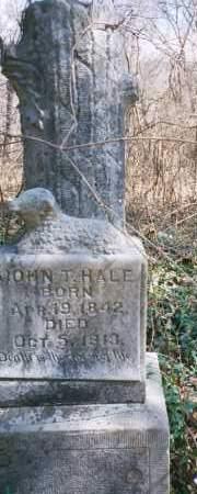 HALE, JOHN TATE - Carroll County, Arkansas | JOHN TATE HALE - Arkansas Gravestone Photos