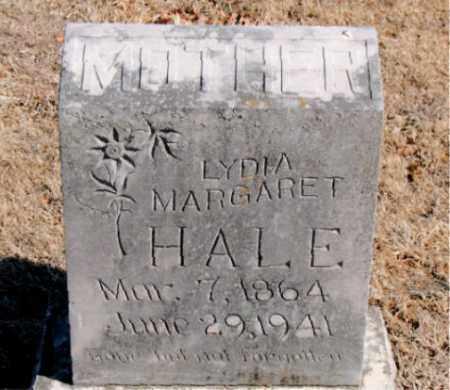 HALE, LYDIA MARGARET - Carroll County, Arkansas | LYDIA MARGARET HALE - Arkansas Gravestone Photos