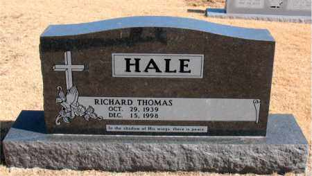 HALE, RICHARD THOMAS - Carroll County, Arkansas | RICHARD THOMAS HALE - Arkansas Gravestone Photos