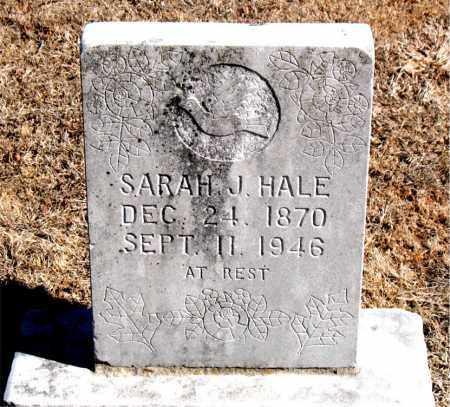 HALE, SARAH  J. - Carroll County, Arkansas   SARAH  J. HALE - Arkansas Gravestone Photos
