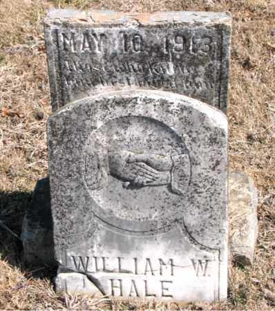 HALE, WILLIAM W. - Carroll County, Arkansas | WILLIAM W. HALE - Arkansas Gravestone Photos