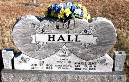 HALL, MARIE - Carroll County, Arkansas | MARIE HALL - Arkansas Gravestone Photos