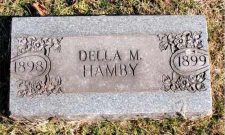 HAMBY, DELLA M. - Carroll County, Arkansas   DELLA M. HAMBY - Arkansas Gravestone Photos