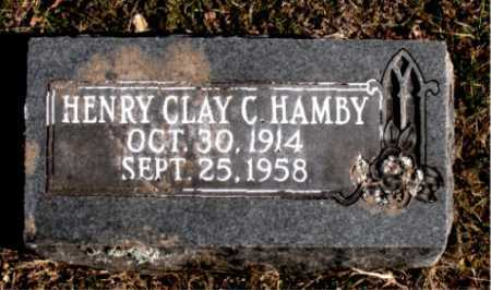 HAMBY, HENRY CLAY C. - Carroll County, Arkansas | HENRY CLAY C. HAMBY - Arkansas Gravestone Photos