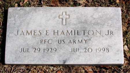 HAMILTON, JR.  (VETERAN), JAMES E - Carroll County, Arkansas | JAMES E HAMILTON, JR.  (VETERAN) - Arkansas Gravestone Photos
