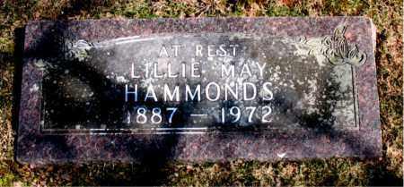 HAMMONDS, LILLIE MAY - Carroll County, Arkansas | LILLIE MAY HAMMONDS - Arkansas Gravestone Photos