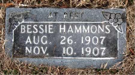HAMMONS, BESSIE - Carroll County, Arkansas | BESSIE HAMMONS - Arkansas Gravestone Photos