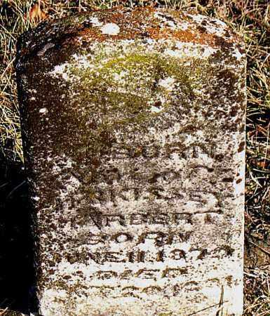 HARBERT, AUBURN - Carroll County, Arkansas   AUBURN HARBERT - Arkansas Gravestone Photos