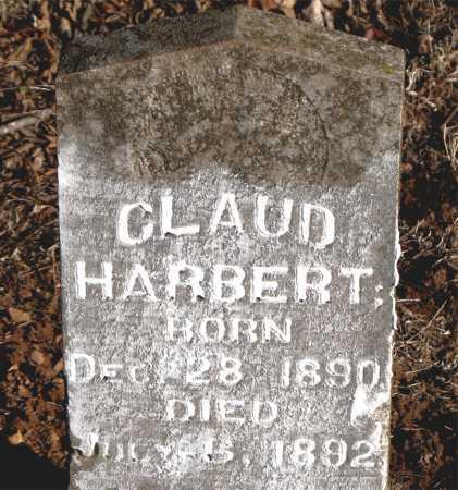 HARBERT, CLAUD - Carroll County, Arkansas | CLAUD HARBERT - Arkansas Gravestone Photos