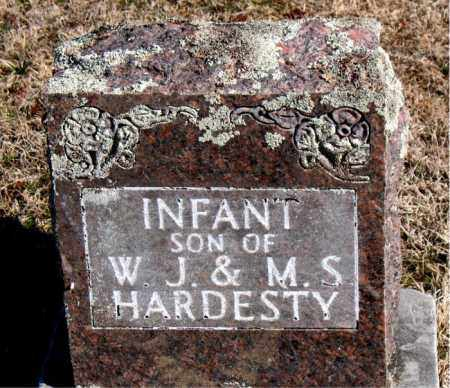 HARDESTY, INFANT SON - Carroll County, Arkansas   INFANT SON HARDESTY - Arkansas Gravestone Photos