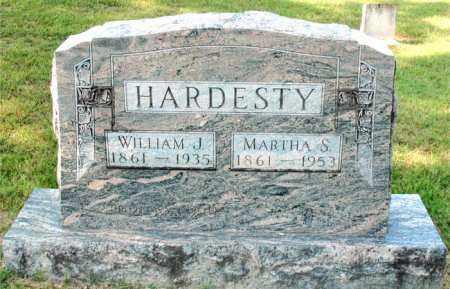 HARDESTY, MARTHA  S - Carroll County, Arkansas | MARTHA  S HARDESTY - Arkansas Gravestone Photos
