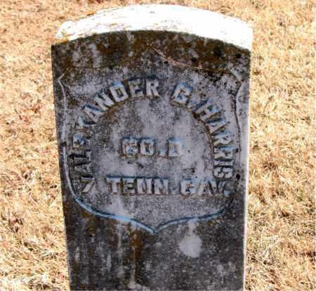 HARRIS (VETERAN UNION), ALEXANDER  B - Carroll County, Arkansas   ALEXANDER  B HARRIS (VETERAN UNION) - Arkansas Gravestone Photos