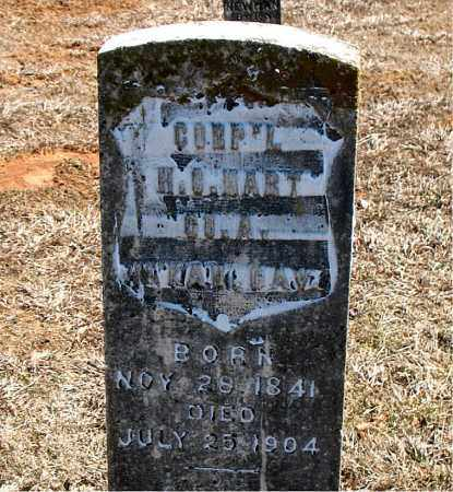 HART (VETERAN UNION), H. C. - Carroll County, Arkansas | H. C. HART (VETERAN UNION) - Arkansas Gravestone Photos