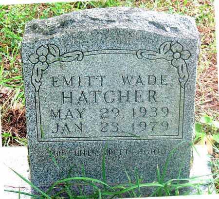 HATCHER, EMITT  WADE - Carroll County, Arkansas | EMITT  WADE HATCHER - Arkansas Gravestone Photos