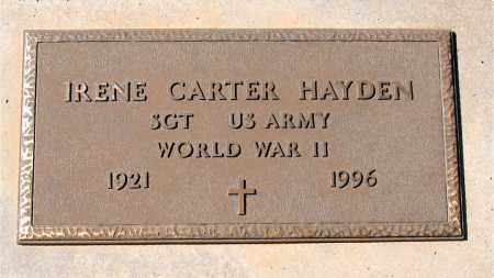 HAYDEN (VETERAN WWII), IRENE - Carroll County, Arkansas | IRENE HAYDEN (VETERAN WWII) - Arkansas Gravestone Photos