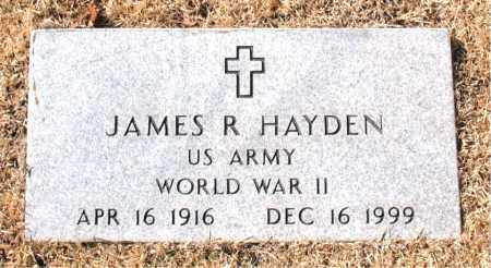 HAYDEN (VETERAN WWII), JAMES R - Carroll County, Arkansas | JAMES R HAYDEN (VETERAN WWII) - Arkansas Gravestone Photos