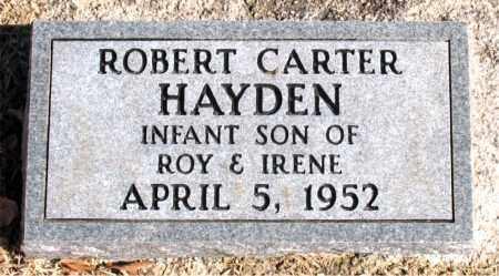 HAYDEN, ROBERT CARTER - Carroll County, Arkansas | ROBERT CARTER HAYDEN - Arkansas Gravestone Photos