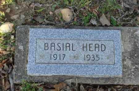 HEAD, BASIAL - Carroll County, Arkansas | BASIAL HEAD - Arkansas Gravestone Photos