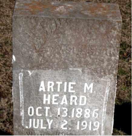 HEARD, ARTIE M. - Carroll County, Arkansas | ARTIE M. HEARD - Arkansas Gravestone Photos