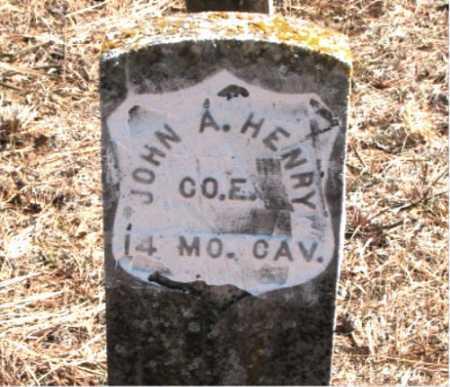 HENRY, JOHN  A. - Carroll County, Arkansas | JOHN  A. HENRY - Arkansas Gravestone Photos