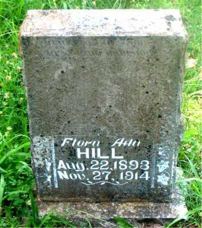HILL, FLORA  ADA - Carroll County, Arkansas | FLORA  ADA HILL - Arkansas Gravestone Photos