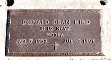 HIRD  (VETERAN KOR), DONALD DEAN - Carroll County, Arkansas | DONALD DEAN HIRD  (VETERAN KOR) - Arkansas Gravestone Photos