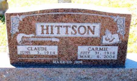 HITTSON, CARMIE - Carroll County, Arkansas | CARMIE HITTSON - Arkansas Gravestone Photos