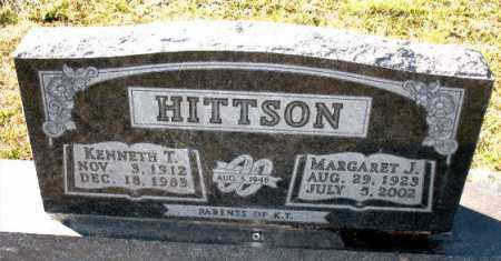 HITTSON, MARGARET J. - Carroll County, Arkansas | MARGARET J. HITTSON - Arkansas Gravestone Photos