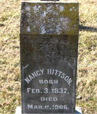HITTSON, NANCY - Carroll County, Arkansas   NANCY HITTSON - Arkansas Gravestone Photos
