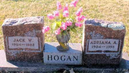 HOGAN, JACK  W. - Carroll County, Arkansas | JACK  W. HOGAN - Arkansas Gravestone Photos