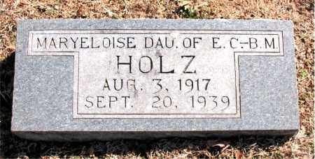 HOLZ, MARYELOISE - Carroll County, Arkansas   MARYELOISE HOLZ - Arkansas Gravestone Photos