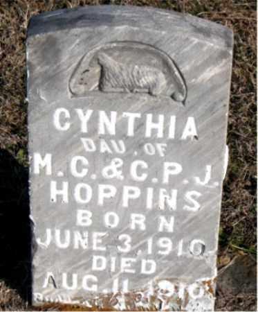 HOPPINS, CYNTHIA - Carroll County, Arkansas | CYNTHIA HOPPINS - Arkansas Gravestone Photos