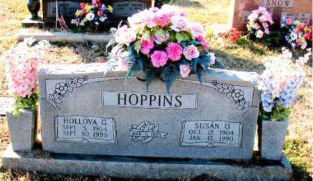 HOPPINS, HOLLOVA - Carroll County, Arkansas | HOLLOVA HOPPINS - Arkansas Gravestone Photos