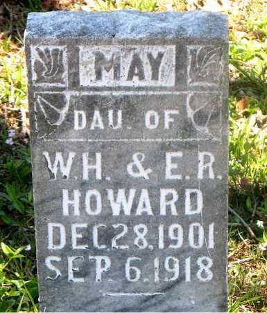 HOWARD, MAY - Carroll County, Arkansas | MAY HOWARD - Arkansas Gravestone Photos