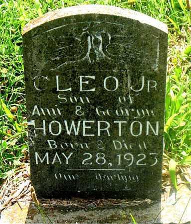 HOWERTON,  JR, CLEO - Carroll County, Arkansas | CLEO HOWERTON,  JR - Arkansas Gravestone Photos